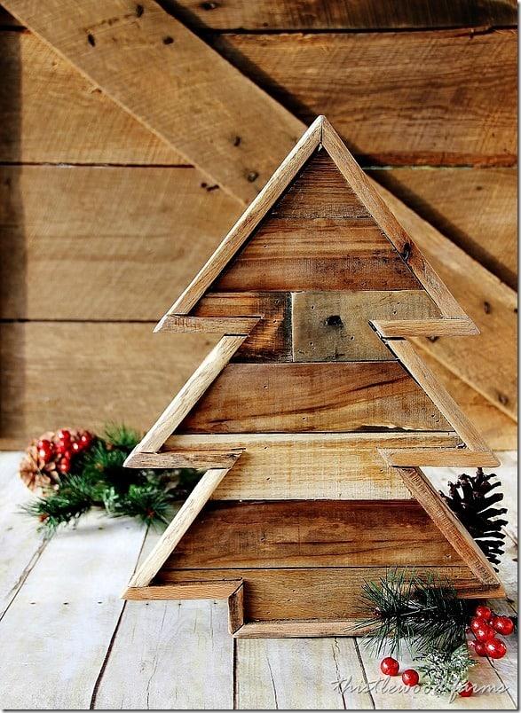 pallet-wood-Christmas-tree-diy-projext