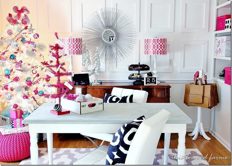 pink-and-blue-Christmas-office