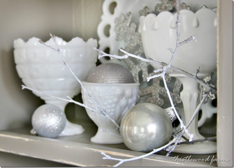 silver-and-white-Christmas-branch