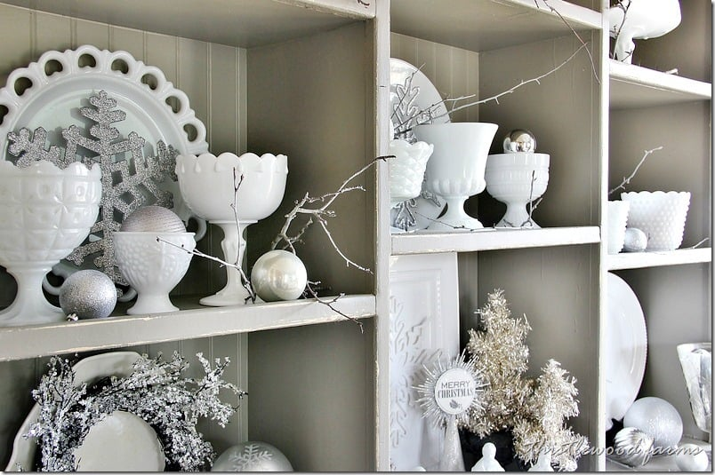 silver-and-white-Christmas-hutch