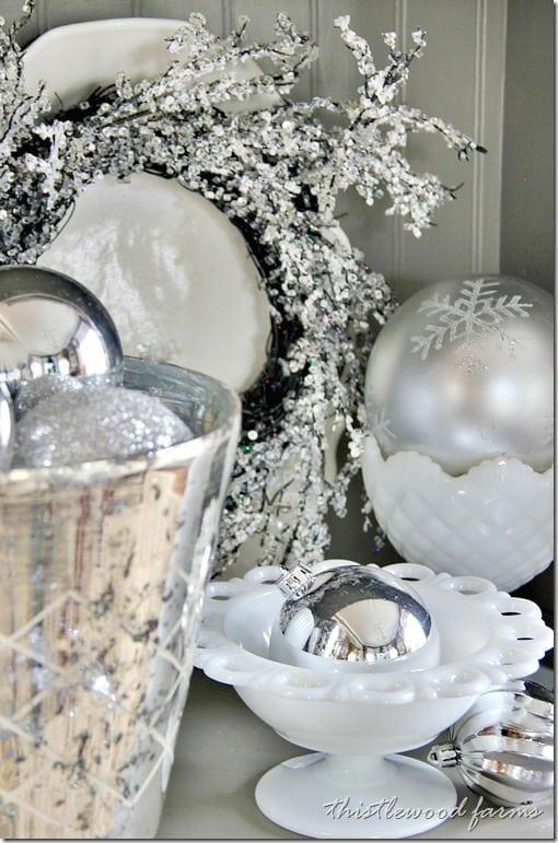silver-and-white-Christmas-ornament