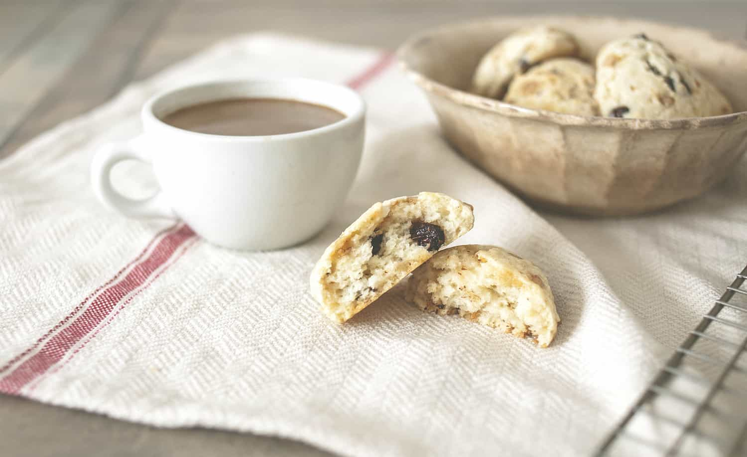 Toffee Chocolate Chip Scones Small - 17
