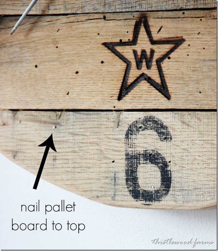 how-to-make-a-pallet-wood-clock-boards