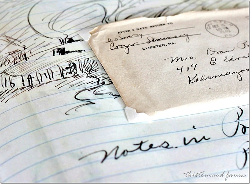 lettters-from-box-54-drawing