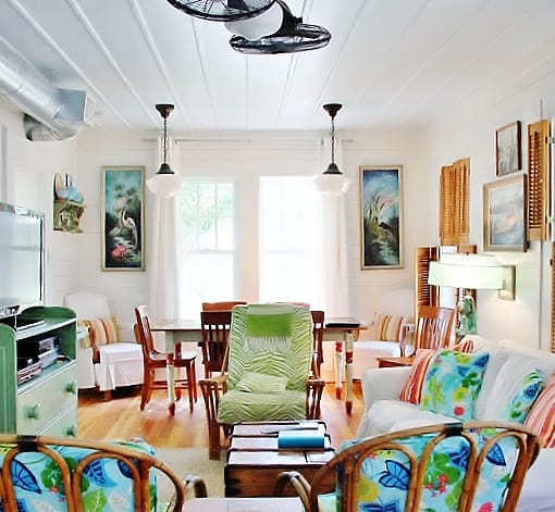Coastal Cottage Style Living Rooms: Beach Cottage Style House Tour