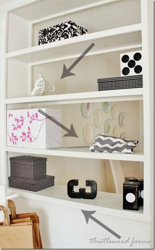 decorative-plate-holder-bookcase-before