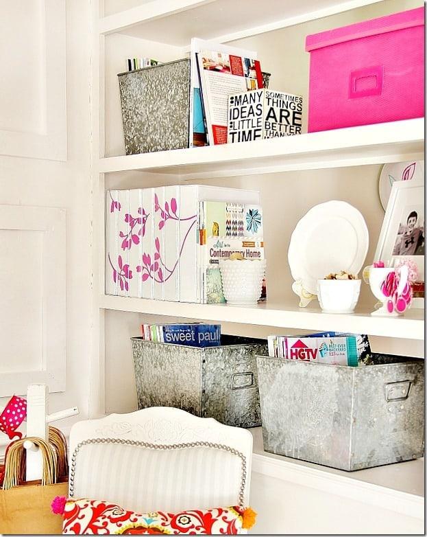 decorative-plate-holder-bookcase