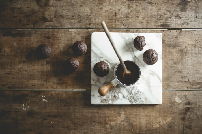 Salted Cocoa Nutella Cupcakes 5