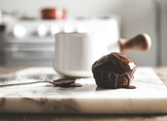 Salted Cocoa Nutella Cupcakes 6