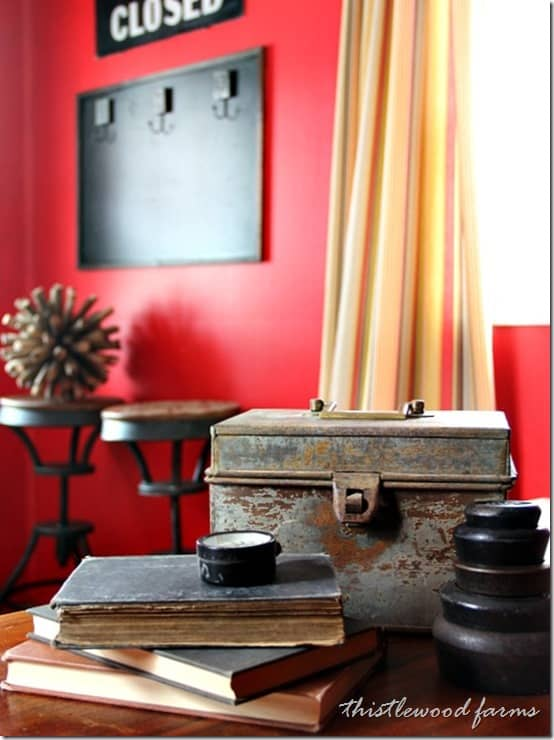 Sherwin-Williams-National-Paint-Week-Red-Room-Desk