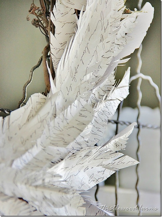 how-to-make-a-paper-feather-wreath-feathers