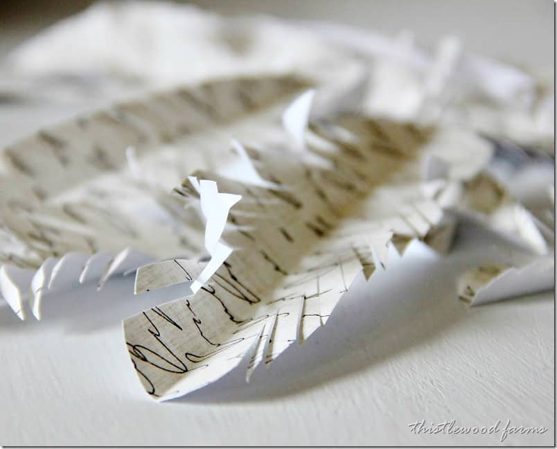 how-to-make-a-paper-feather-wreath-make