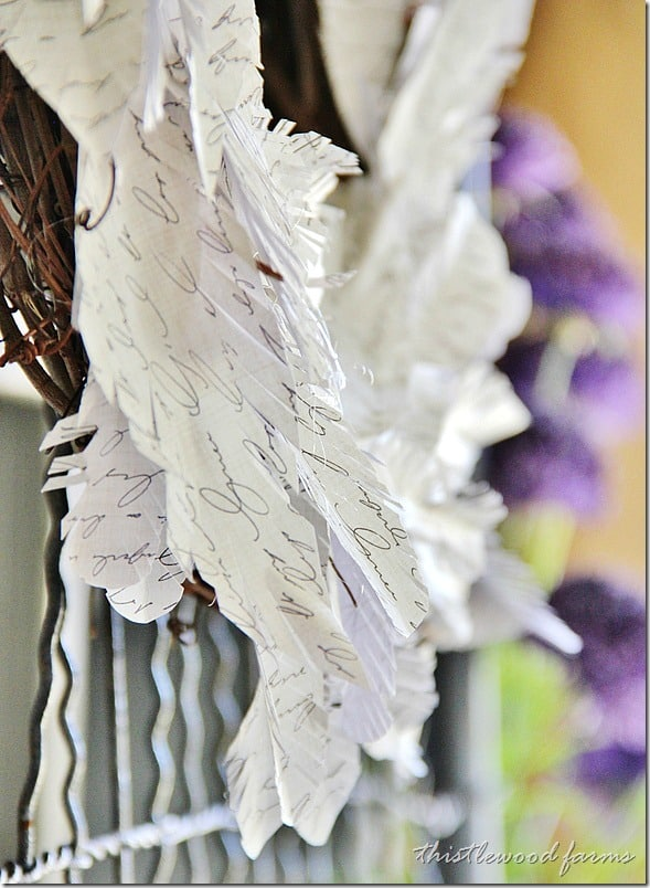 how-to-make-a-paper-feather-wreath-project-idea