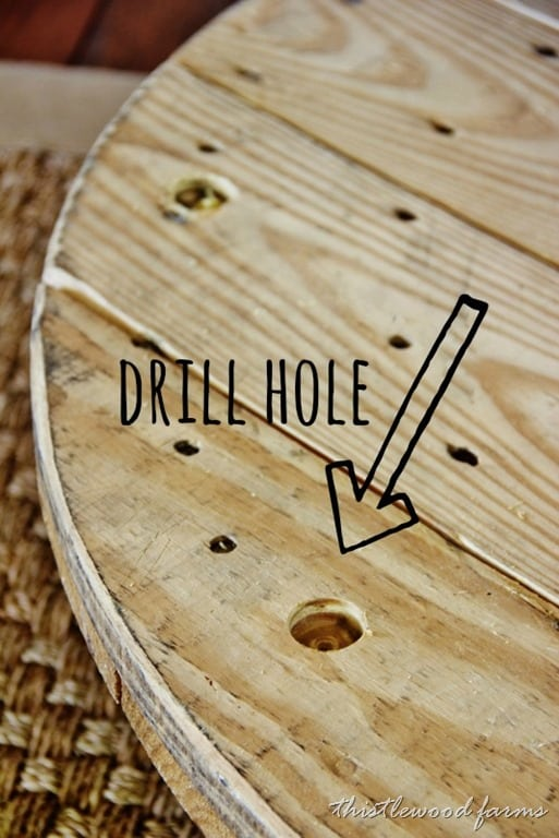 Drill a hole for the pipes with ample room for the books