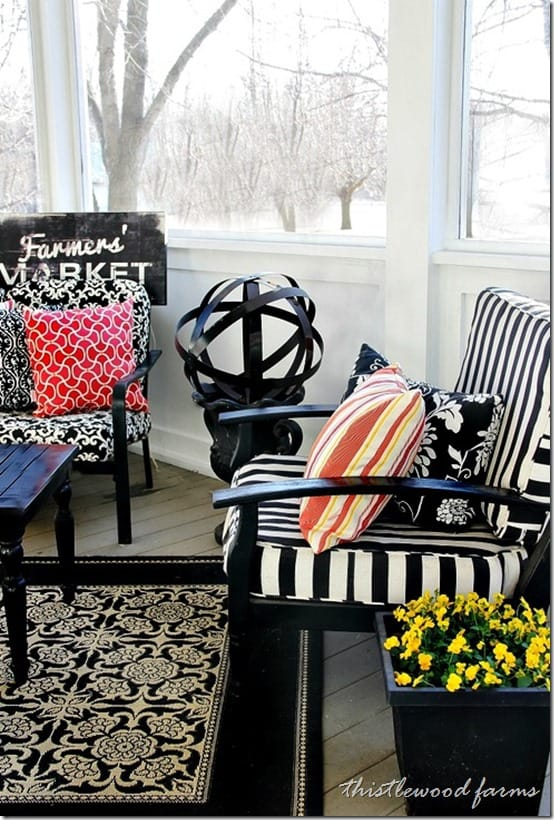 screened-in-porch-spring-stripes