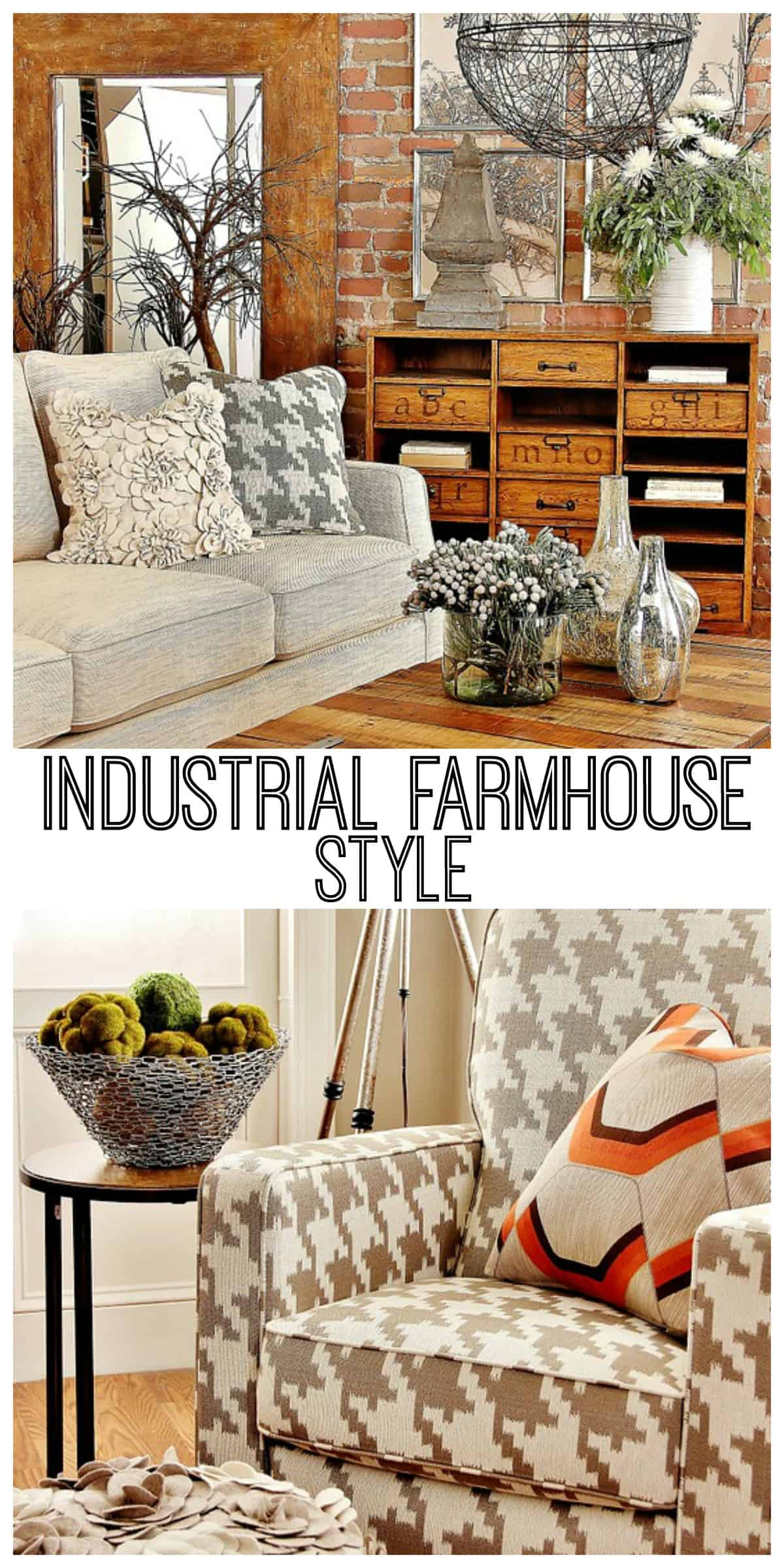 Industrial farmhouse decorating thistlewood farm - What is farmhouse style ...