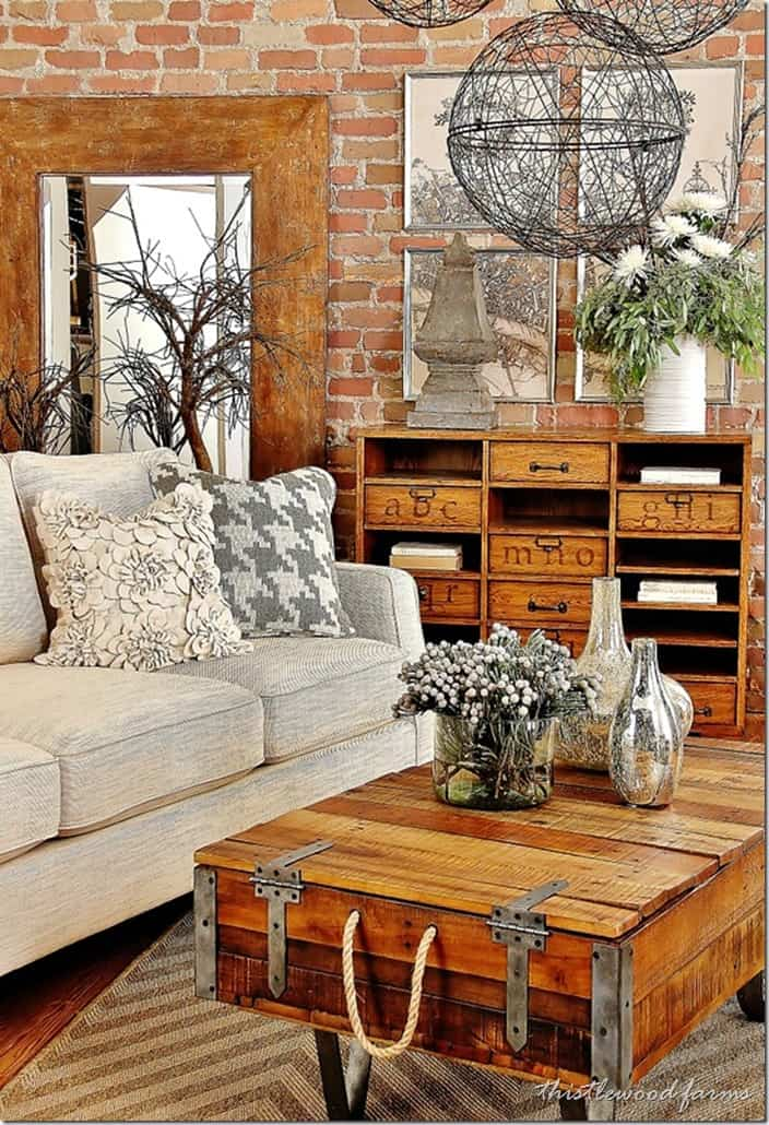 Industrial Farmhouse Decorating - Thistlewood Farm