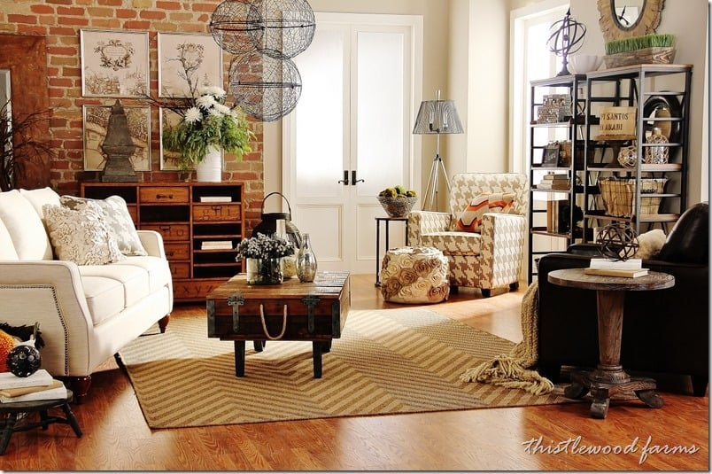 Industrial Farmhouse Decorating Thistlewood Farm : living room design ideasthumb from thistlewoodfarms.com size 804 x 535 jpeg 175kB