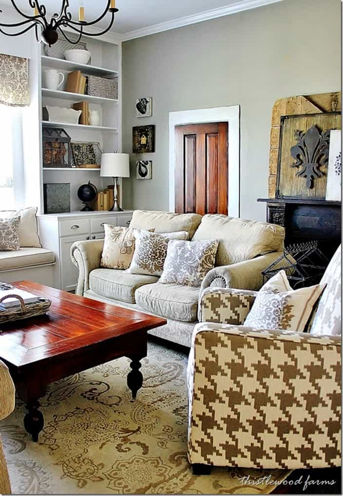 Industrial farmhouse decorating thistlewood farm - Pictures of decorated living rooms ...