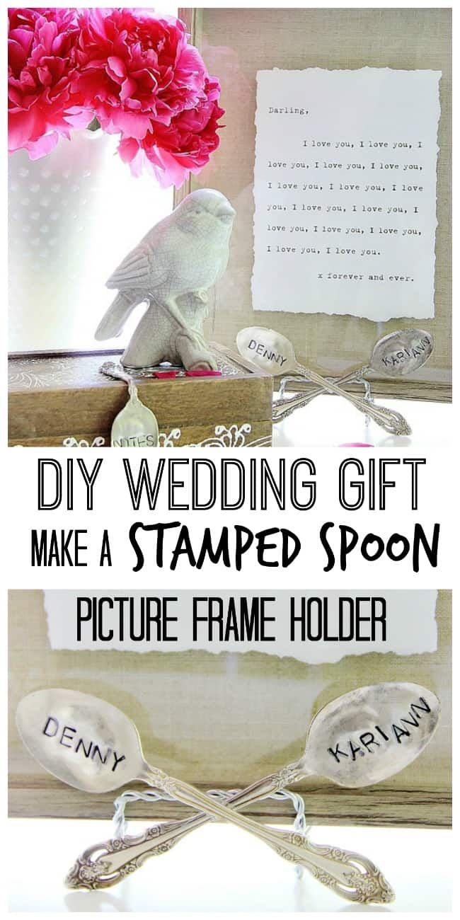 diy-wedding-gift-idea-stamped-spoon-picture-frame-holder