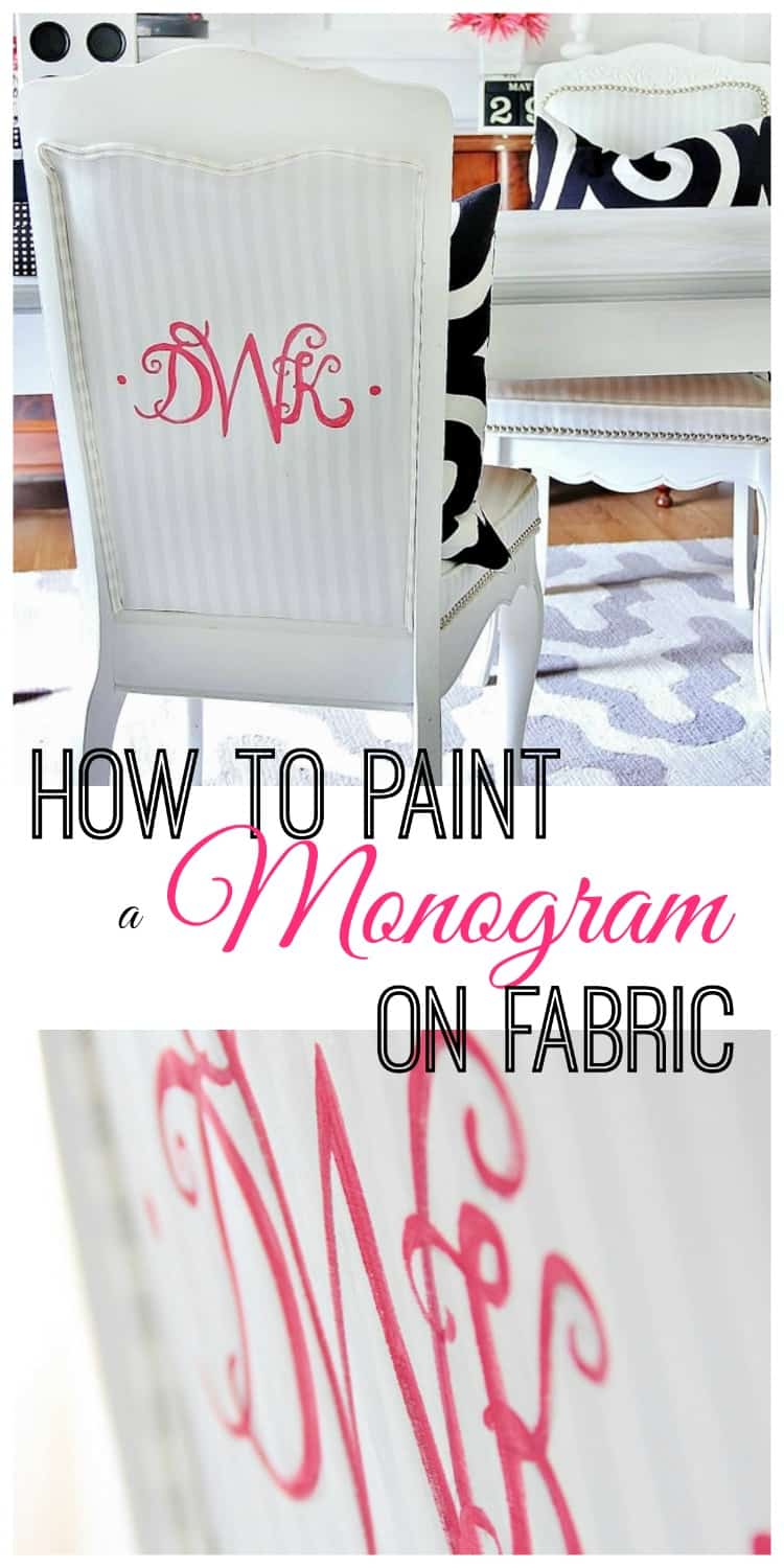 how-to-paint-a-monogram-on-fabric