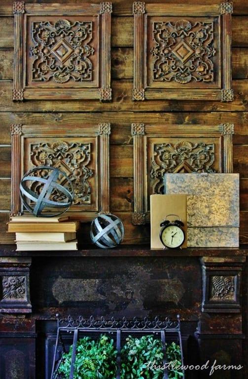 Antique Dining Room Hutch