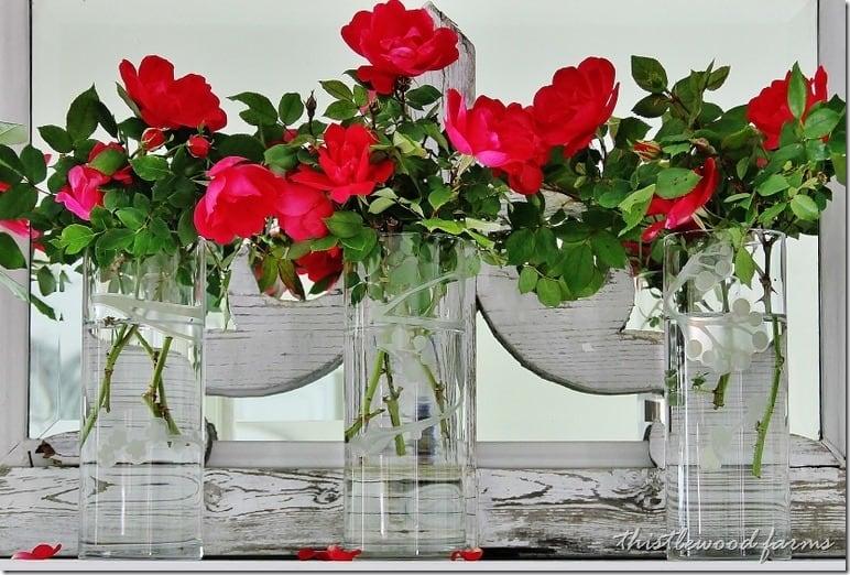 summer-mantel-decorating-ideas