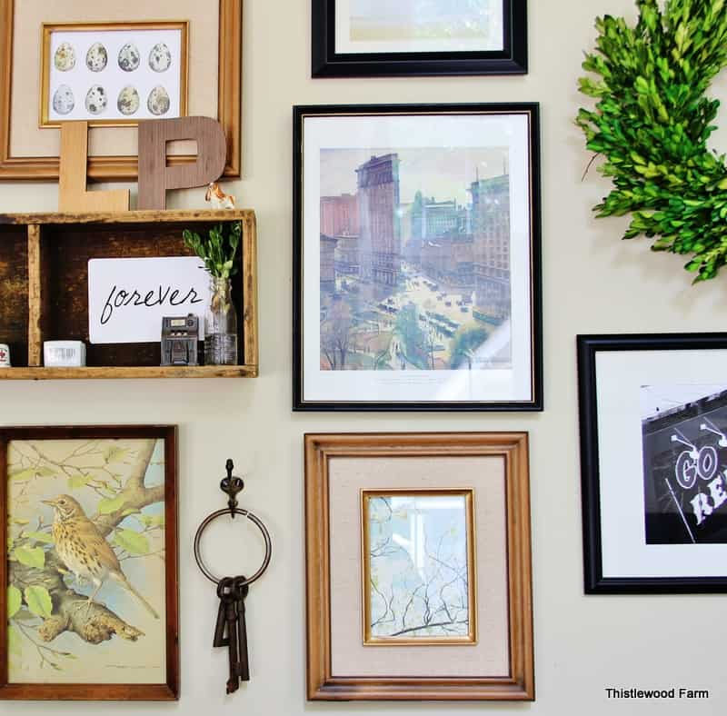 Finding Home Gallery Wall