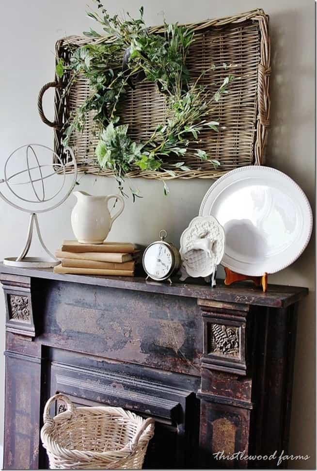 how-to-decorate-a-mantel
