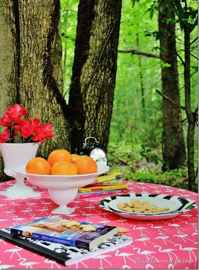 outdoor table ideas