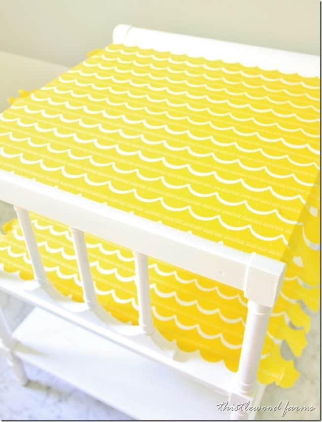 painted table project