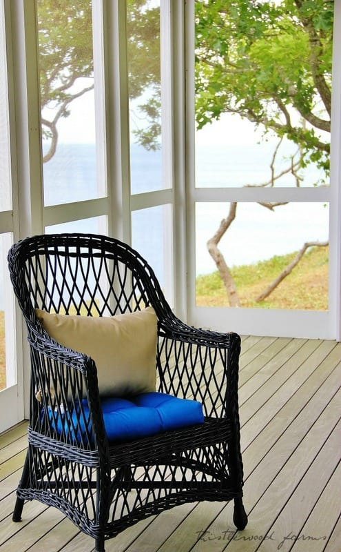 beach house chair