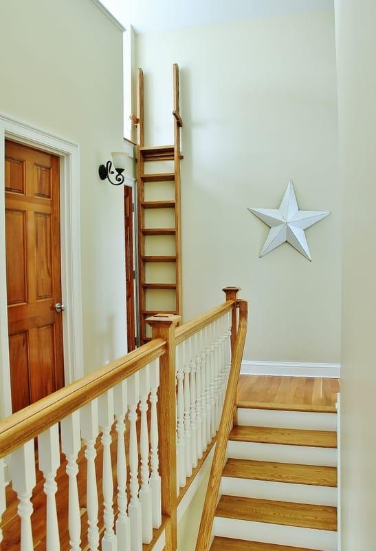 beach house stairs