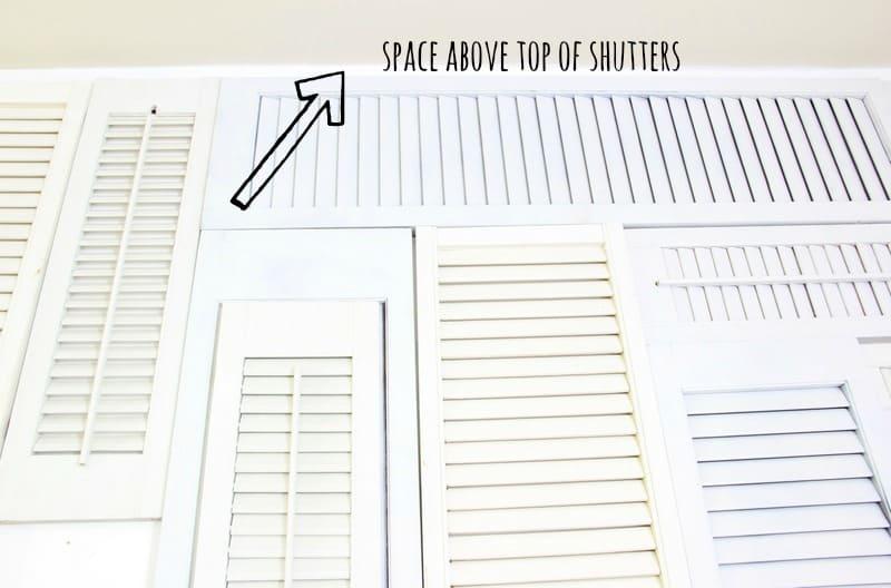 shutter wall diy