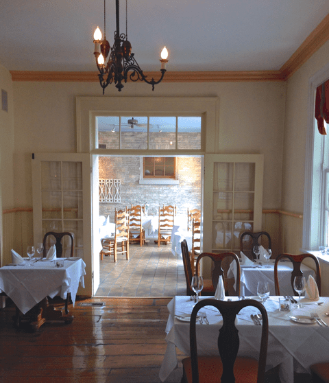 The Dining Rooms at The Little Inn Bayfield...