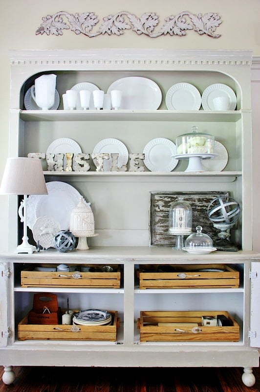 kitchen organization diy project