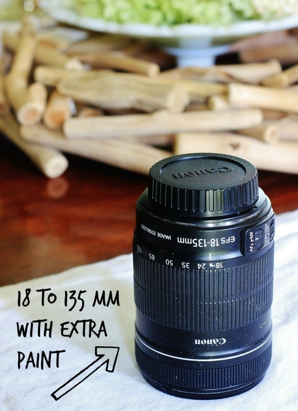 An 188 to 135 mm flexible lens is ideal for photographing rooms.