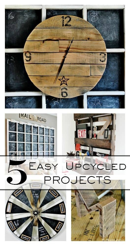 easy upcycled projects