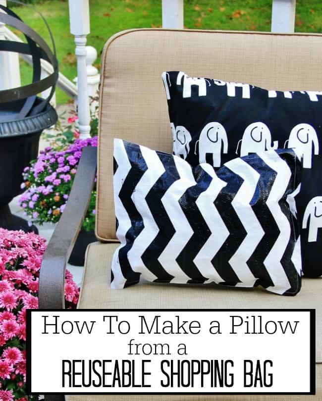 make an outdoor pillow diy project