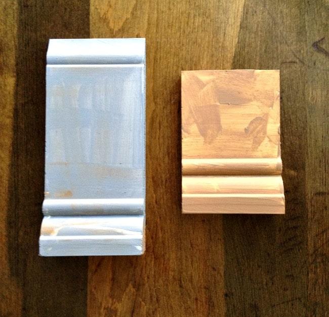 wood block molding