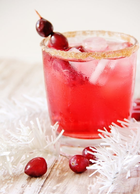 Cranberry Mocktail Recipe for the holidays