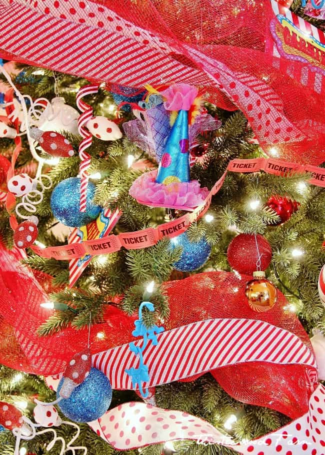 Circus theme tree