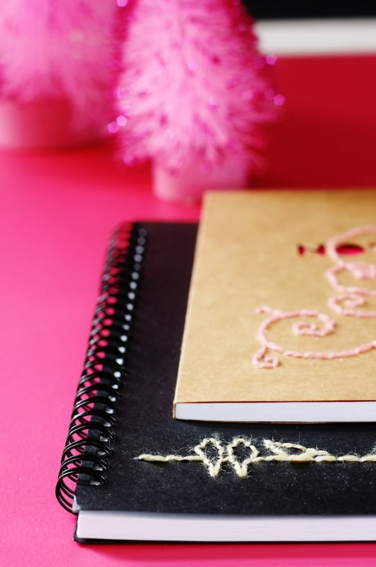 Hand-Stitched Notebook how to