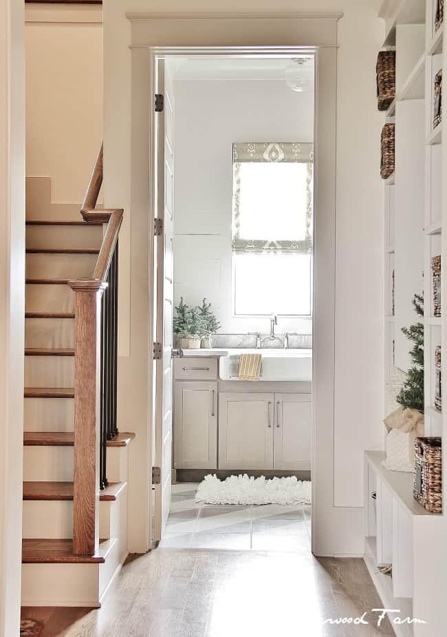 hallway decorator show home