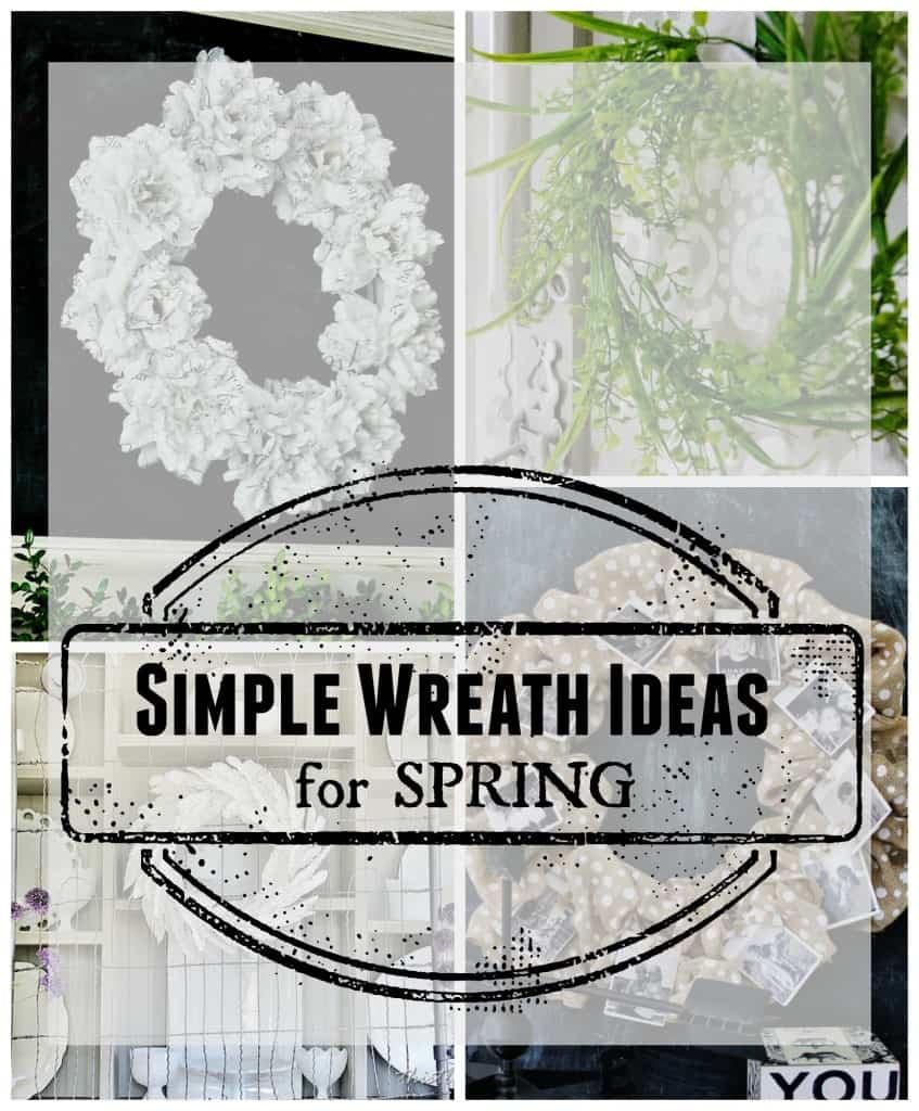 simple wreath ideas for spring