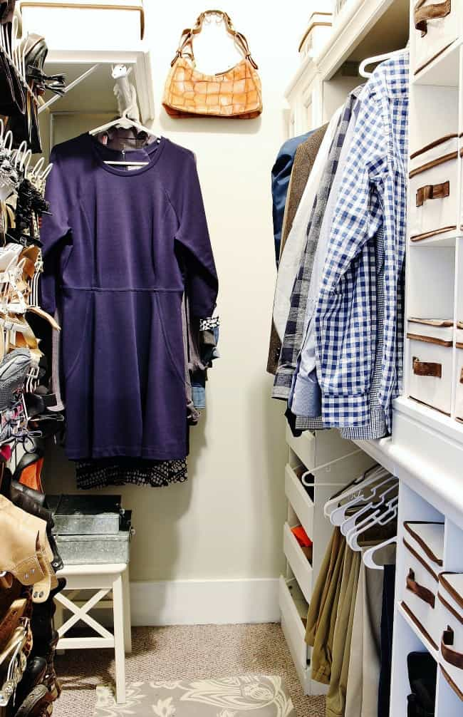 tips for storage and closet organization