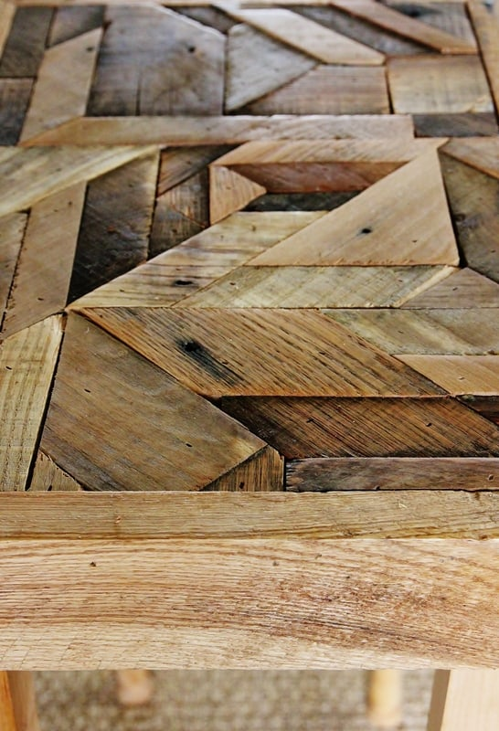 Pieces of Wood Table