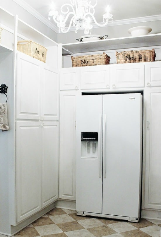 Butler's Pantry with fridge