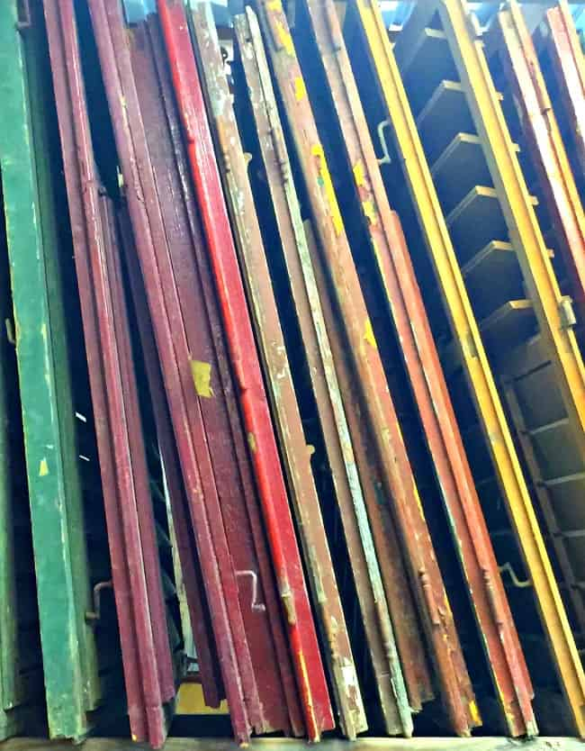 salvage shopping shutters