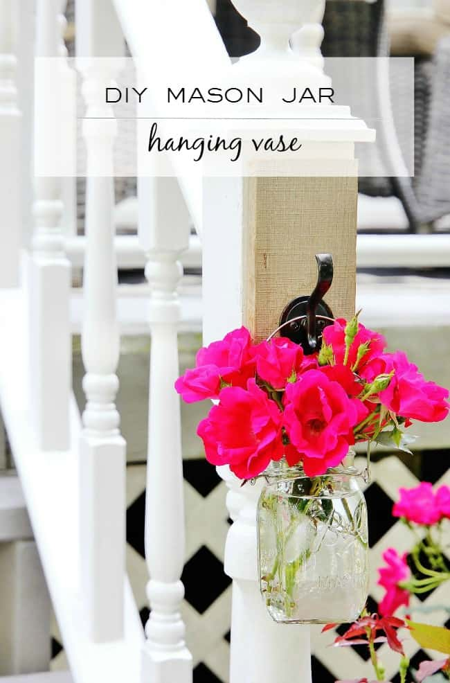 How To Make A Hanging Mason Jar Vase Thistlewood Farm